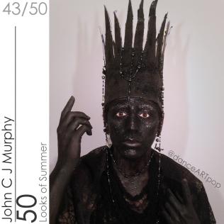 Black Glitter King